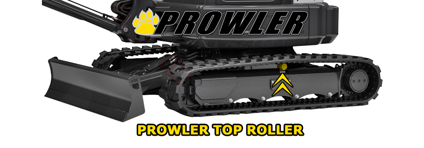 Part Number RC411-21903 Rubber Track Prowler Kubota KX71-3S Top Roller