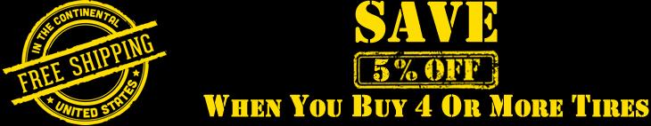 Save 5% Off Set of 4 Skid Steer Tires