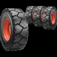 10x16.5 Ultra Guard LVT Skid Steer Tire And Wheel Set