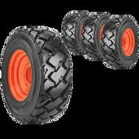 10x16.5 Ultra Guard MX Skid Steer Tire And Wheel Set