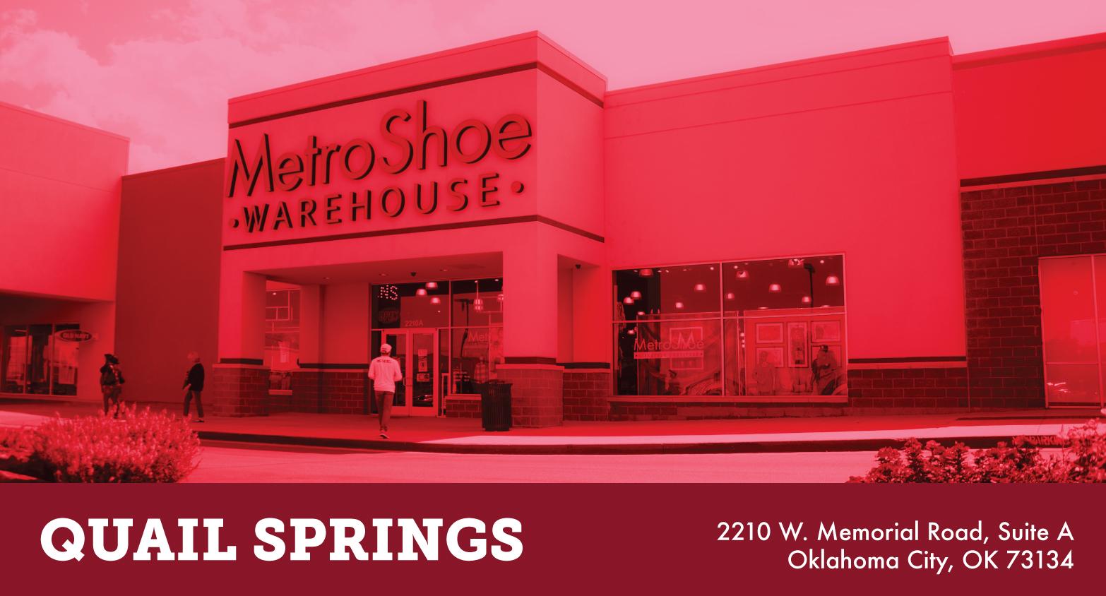 Metro shoe warehouse okc