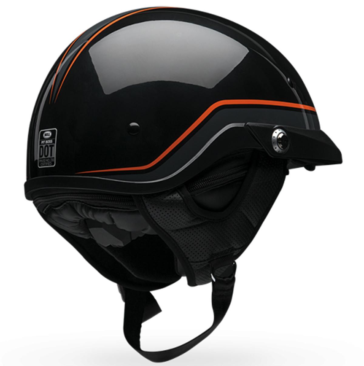 Bell Dual Sport Helmet >> Bell Pit Boss Pin Half Helmet | XtremeHelmets.com
