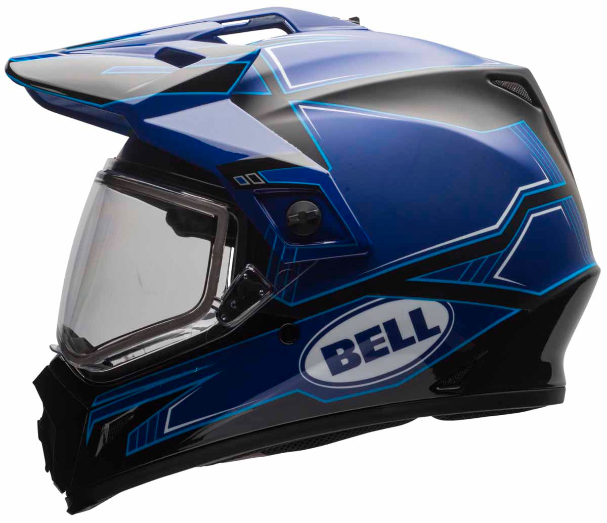 bell mx 9 adventure snow helmet dual lens. Black Bedroom Furniture Sets. Home Design Ideas