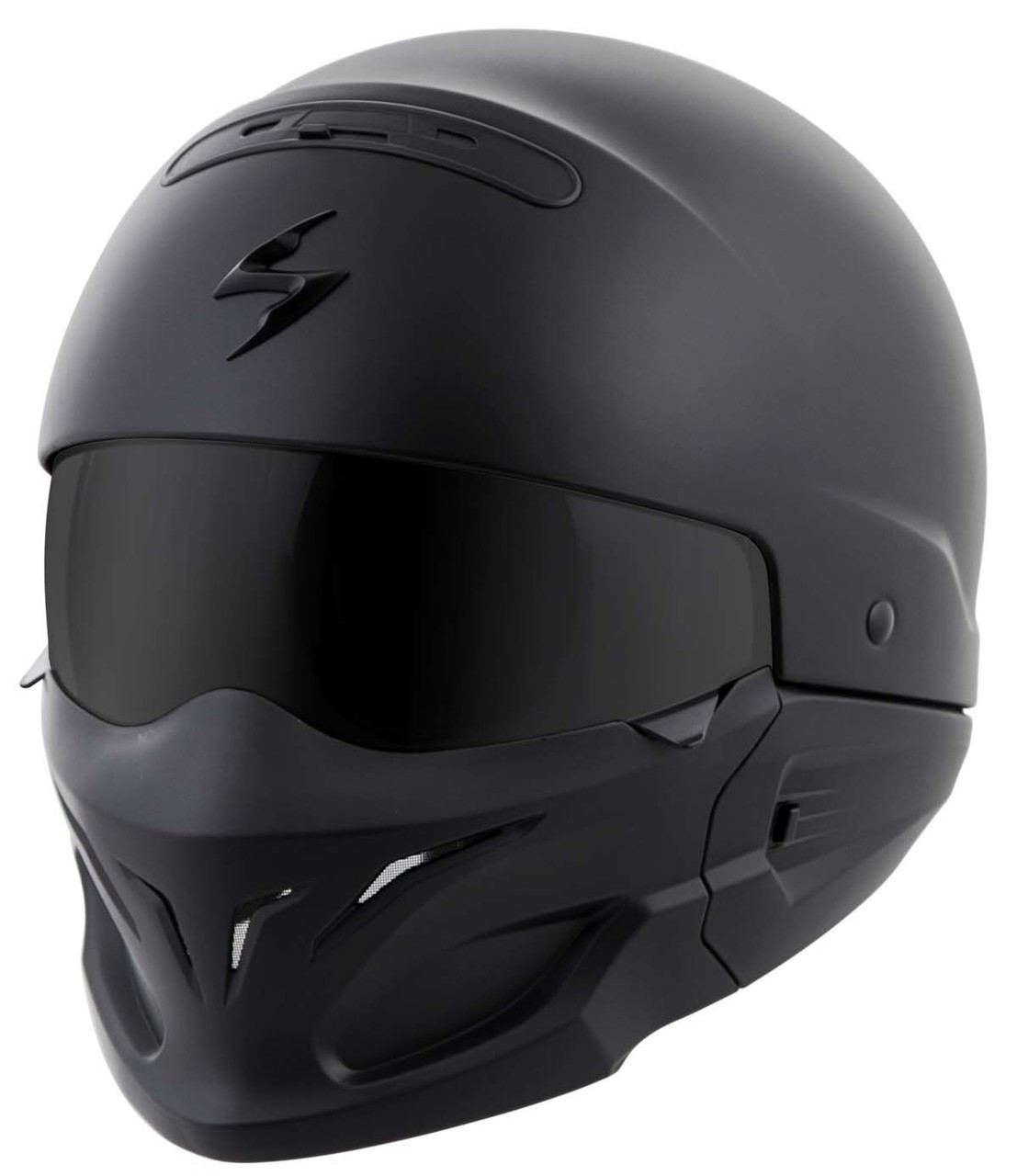 Scorpion Covert Solid Helmet Matte Black | XtremeHelmets.com