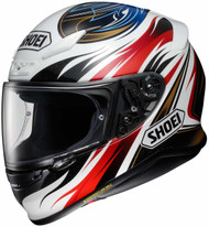 Shoei RF-1200 Incision Helmet TC-1 Red/Gold