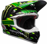 Bell Moto-9 Carbon Flex MC Monster Replica 18.0 Helmet Front Right