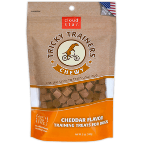 Cloud Star Chewy Tricky Trainers Treat Cheddar Flavor 5 oz