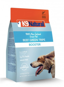 K9 Natural Beef Green Tripe Booster 8.8 oz.