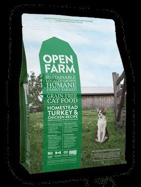 Open Farm Homestead Turkey & Chicken Feline Recipe