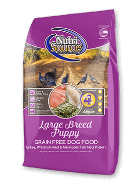 NutriSource Grain Free Large Breed Puppy Formula