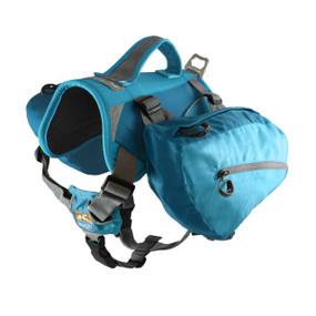 Kurgo Baxter Dog Backpack / Ocean Blue