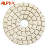 Alpha 4 inch Buff  White