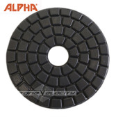 Alpha  4 inch Buff | Black