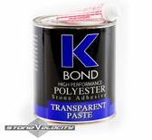 K- BOND 1 Quart Solid Transparent Polyester Solid Glue