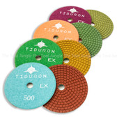 Tiburon EX 4inch Super Shine Polishing Pads