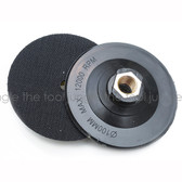 4 inch  Quality Ridged Plastic Backer Pad -5/8 11 thread