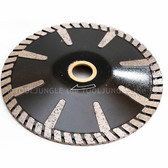 6 Inch Diamond Turbo Convex Sink Cutter Blade Wet/Dry