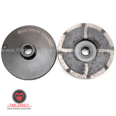 "COARSE GRIT 4"" Resin Metal Diamond Grinding Cup Wheel"