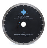 Tiburon Black 25 mm Layered diamond