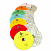 TIburon Hybrid set of 7 Diamond Polishing Pads
