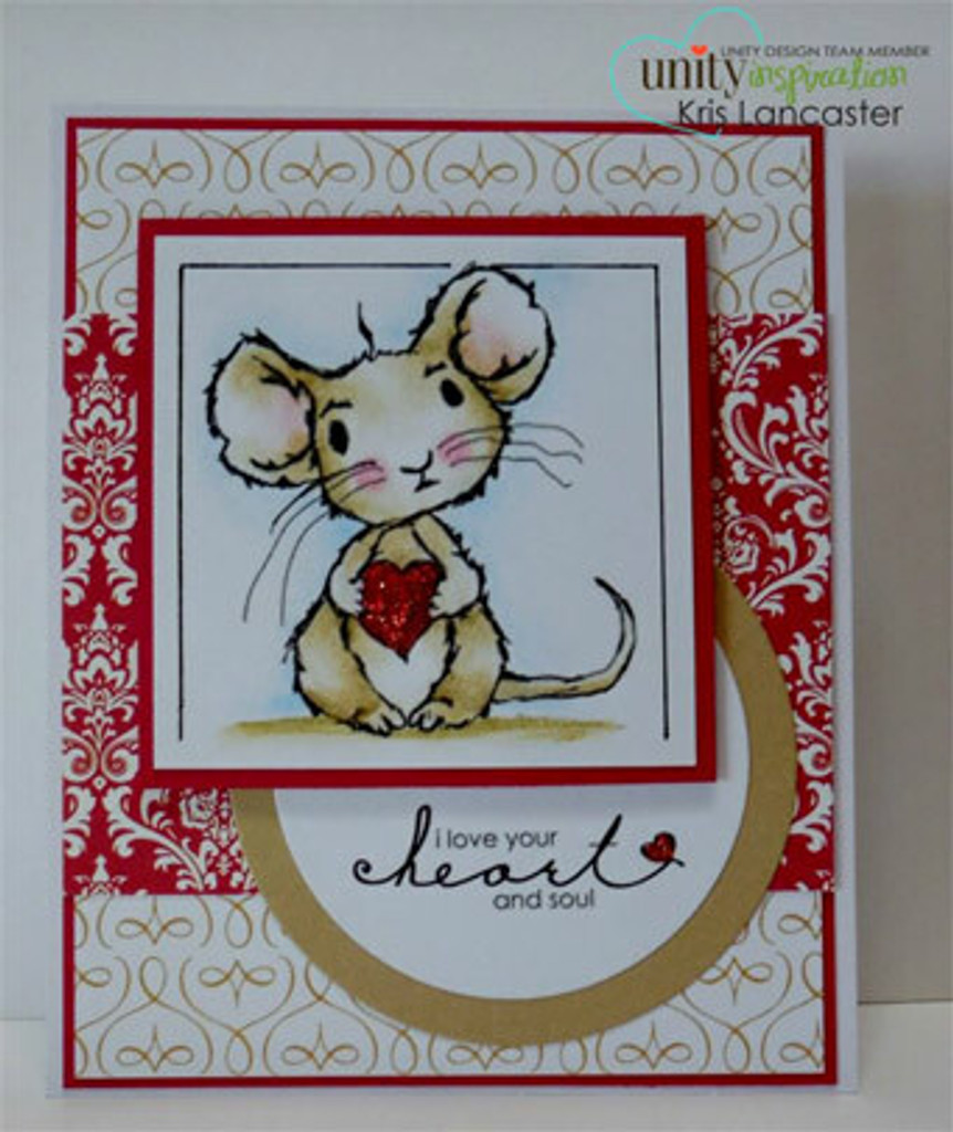Alfie - heart & soul mouse