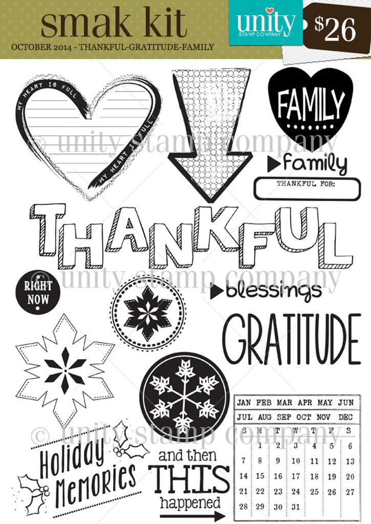 Thankful -Gratitude - Family