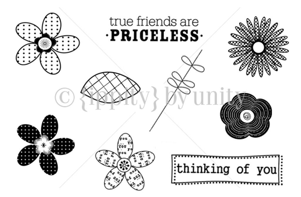 Flowers + Friends= Priceless