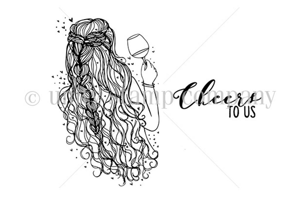 Beauty, Wine-Cheers!