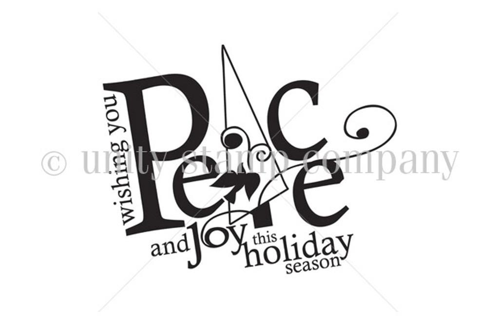 Peace & Joy {itty bitty}