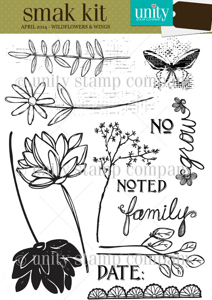 Wildflowers & Wings {smak 4/14}
