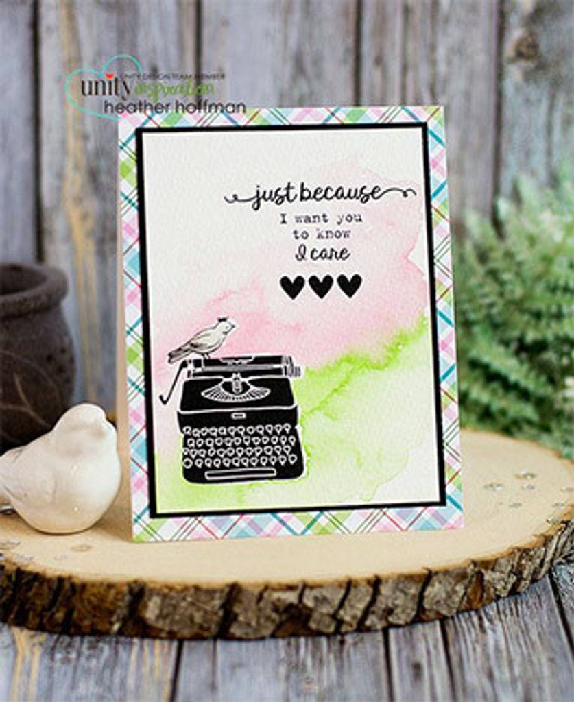 I Want You To Know {November 2016 Sentiment Kit}