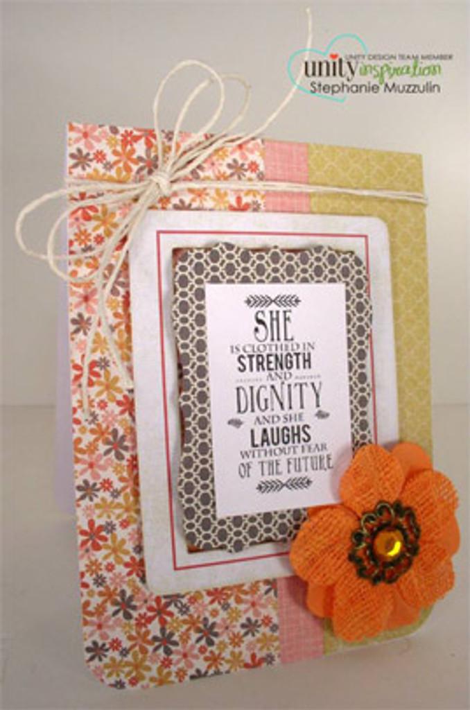 Strength & Dignity {kom 11/13}