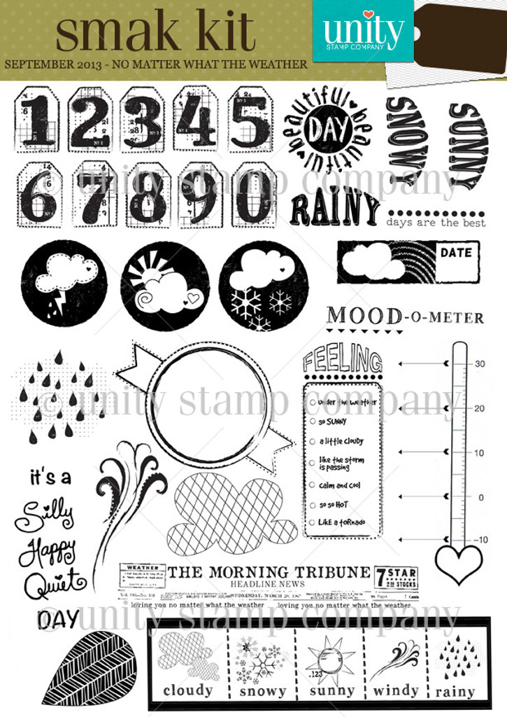 No Matter what the Weather {smak 9/13}