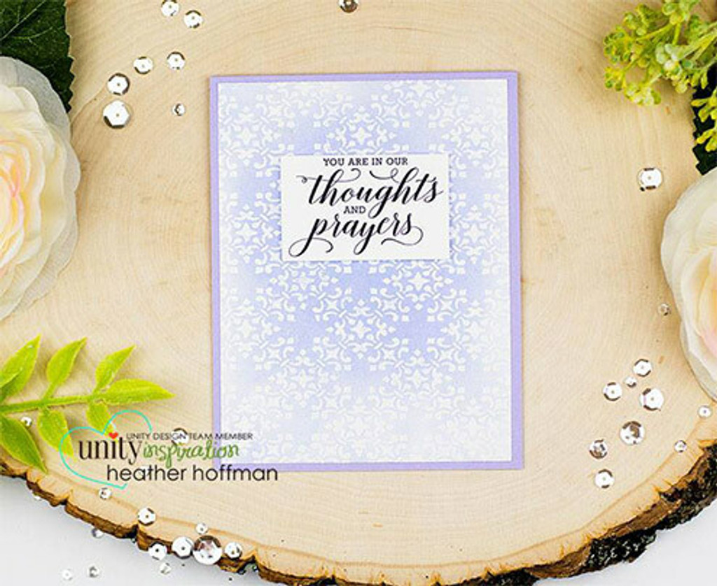 May Strength Surround You {January 2017 Sentiment Kit}