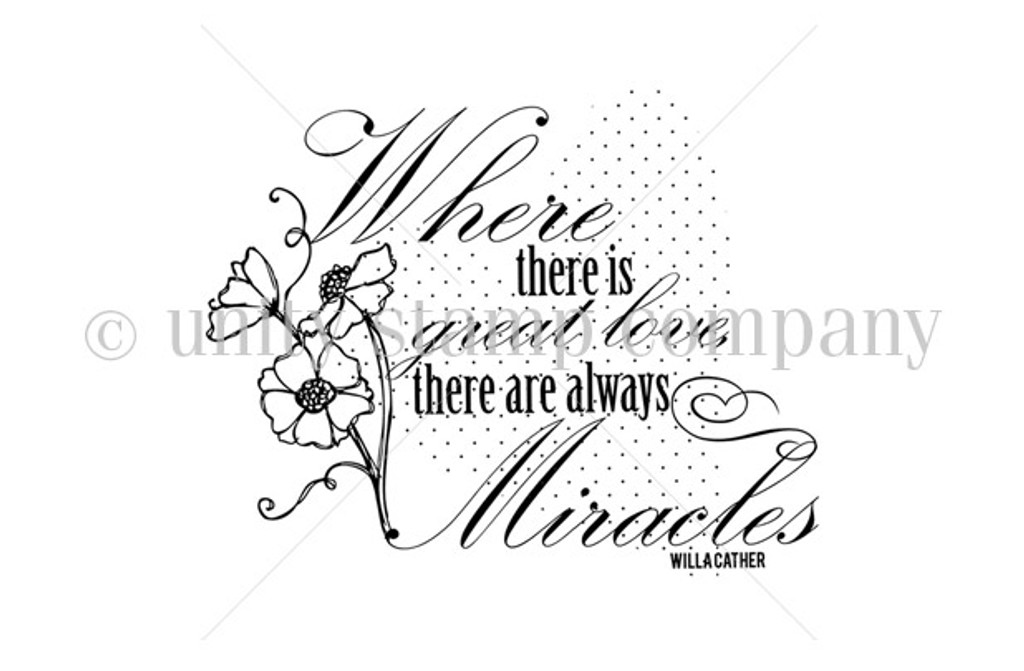Great Love and Miracles