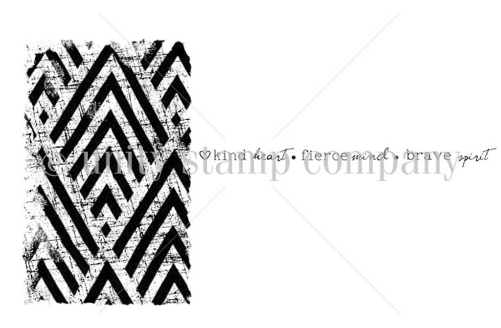 Brave Spirit Diamond Stripes {textured feelings}