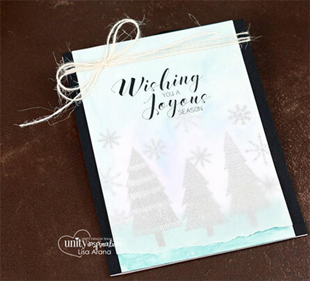 A Joyous Season {October 2016 Sentiment Kit}