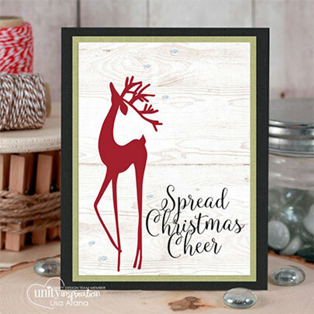 Cheerful Prancing {October 2017 Sentiment Kit}
