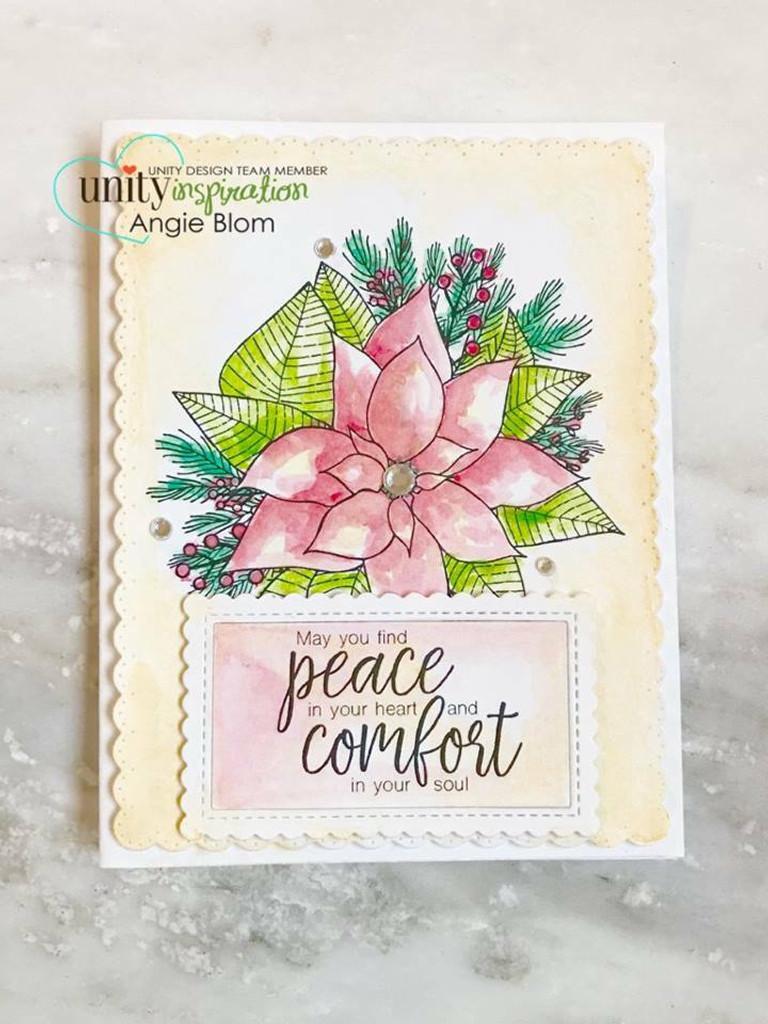 Poinsettia With Love {November 2017 Sentiment Kit}