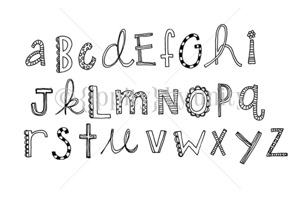 Alphabetically Adorable