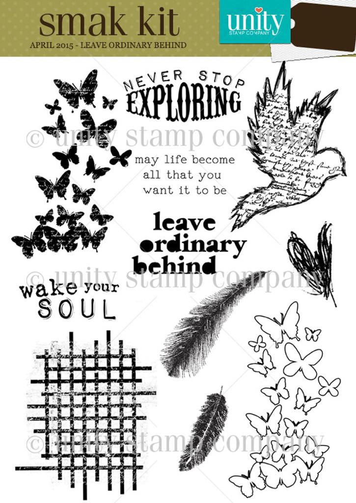 Leave Ordinary Behind {smak 4/15}