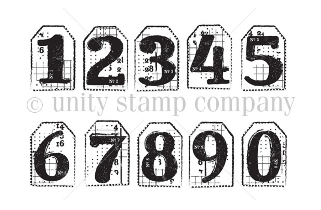 Tiny Number Tags