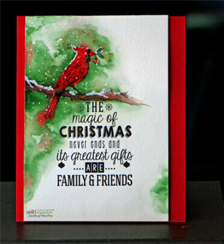 Magic of Christmas {november 2014 sentiment kit}