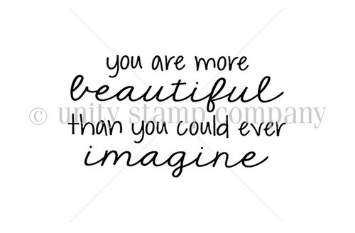 You Are More Beautiful