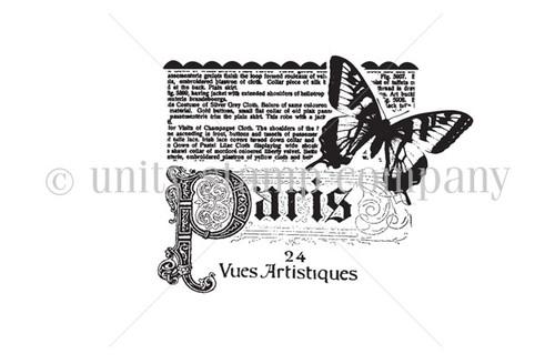 Paris Newsprint