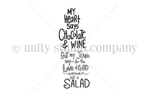 Woman Eat a Salad
