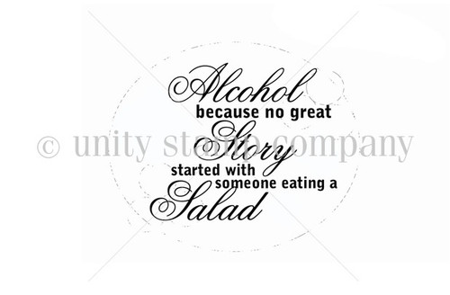 Alcohol and Salads