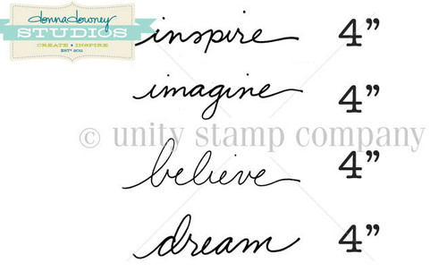 """Inspire"" Words {Donna Downey}"