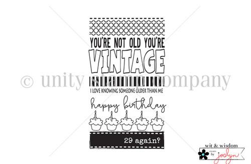 Vintage Older Than Me {wit & wisdom}