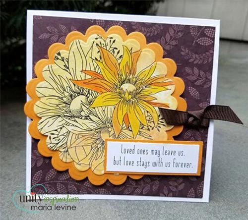 Abundant Blessings {September 2017 Sentiment Kit}